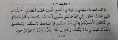 دعای امام حسین علیه السلام در سجده
